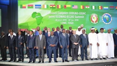 TOGO SOMMET CONJOINT AFRIQUE DE L'OUEST ET AFRIQUE CENTRALE