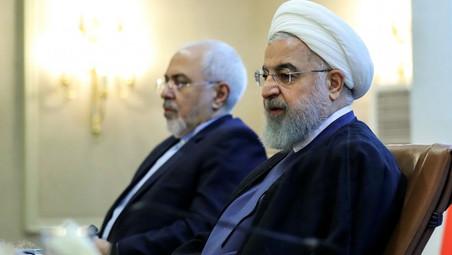 IRAN / GOUVERNEMENT : HASSAN ROHANI REJETTE LA DEMISSION DE JAVAD ZARIF