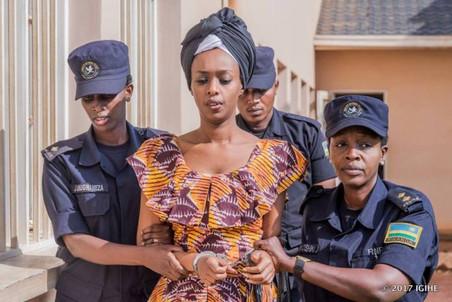 RWANDA: DIANE RWIGARA POURRAIT RETOURNER EN PRISON