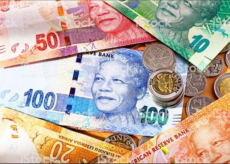 AFRIQUE DU SUD : 01 PIÈCE D'OR ET DES BILLETS DE BANQUE À L'EFFIGIE DE MANDELA