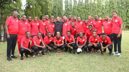 BURUNDI / FOOTBALL : LE CHEF DE L'ETAT RENCONTRE L'EQUIPE NATIONALE