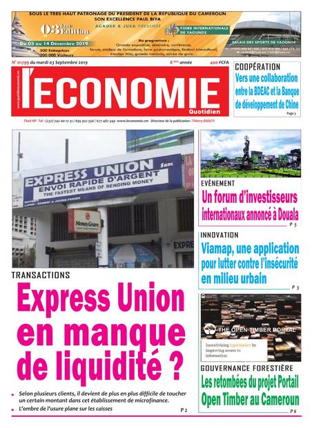 REVUE DE PRESSE DU MARDI 03/09/2019