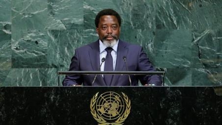 Nations Unies : Kabila exige à nouveau le départ de la Monusco