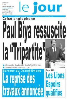 REVUE DE PRESSE AFRICAINE DU MERCREDI 11/09/2019