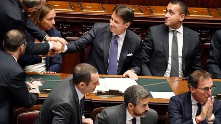 ITALIE / RÉSOLUMENT PROEUROPEEN : GIUSEPPE CONTE OBTIENT LA CONFIANCE DES DÉPUTÉS