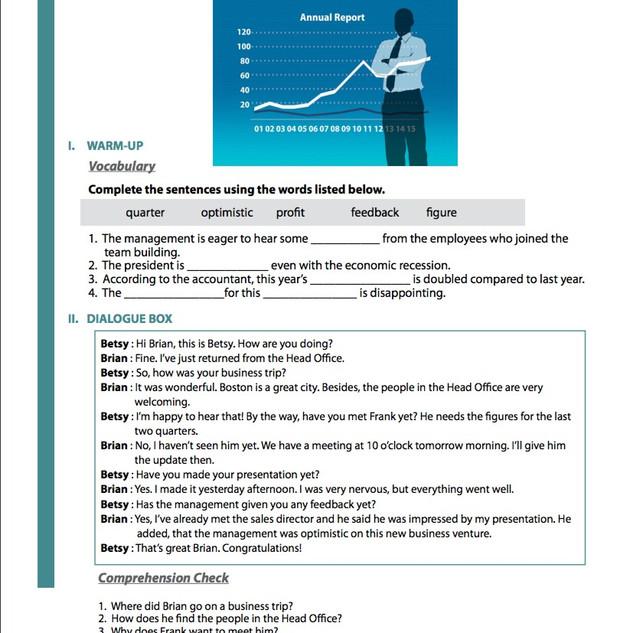 BUSINESS ENGLISH 6