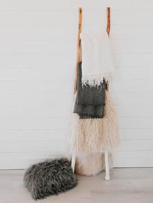 Blankets & Ladder