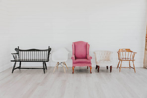 Assorted Chairs & Benches