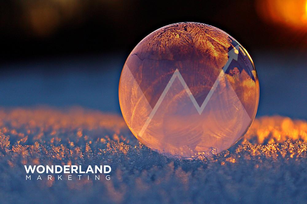 wonderland marketing ice bubble