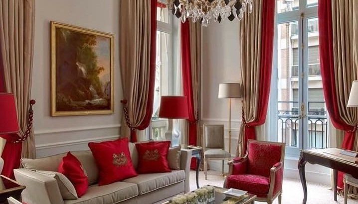 How to combine two colors in window treatments