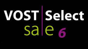 VOST Select Sale No. 6: Tiere jetzt anmelden