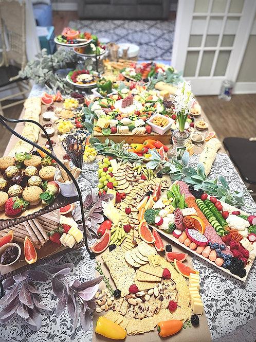 Large Graze Table