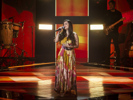 Paraibana Maria Kamila, vocalista de 'Os Gonzagas', passa na primeira fase do The Voice Brasil