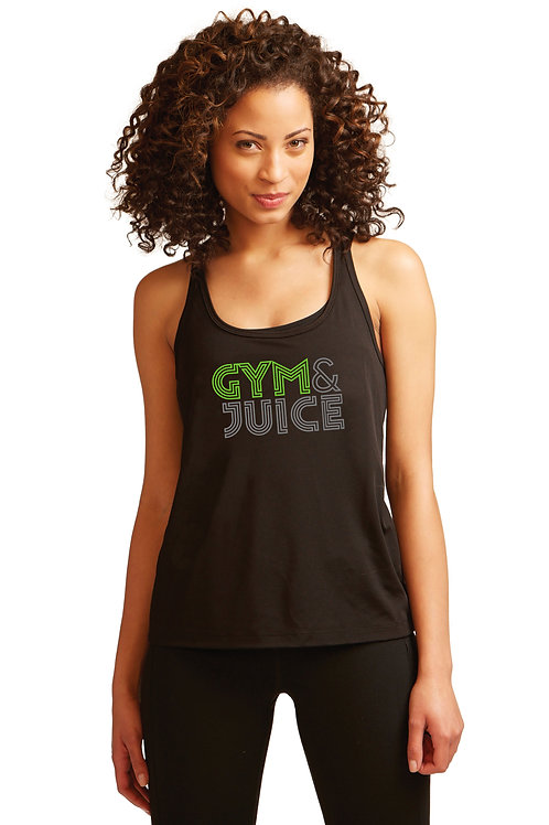Gym & Juice Performance Racerback Tank