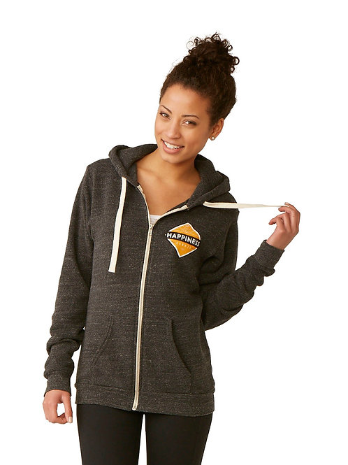 Happiness Junkie Full Zip Sweatshirt