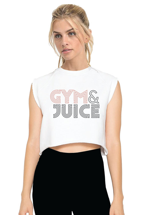 GYM & JUICE Crop Cut-off