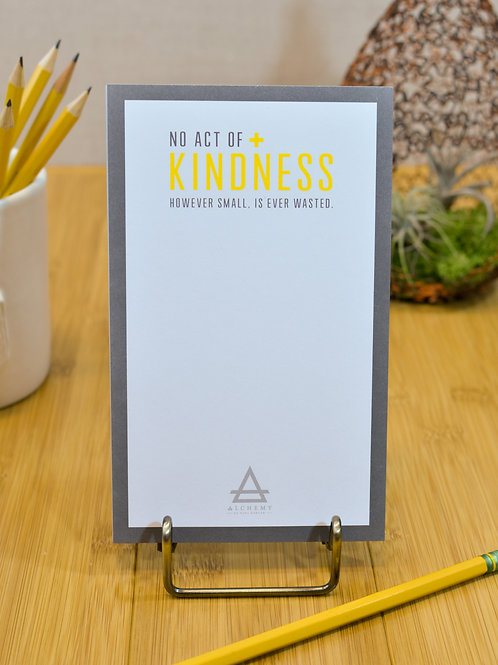 Kindness Quotepad Set