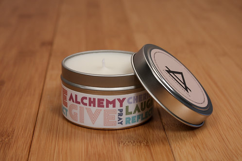 New Day 6oz Soy Travel Candle