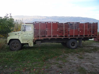 A & L Peterson Orchards truck