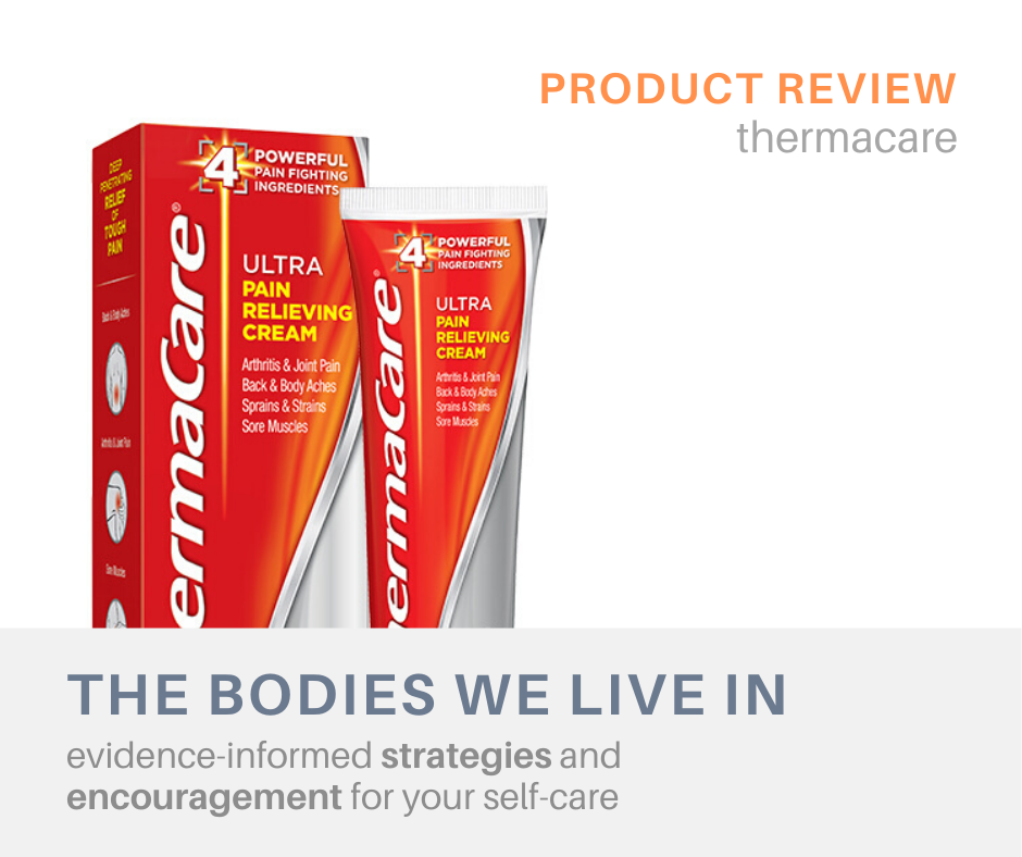 thermacare review muscle aches massage therapy holland michigan