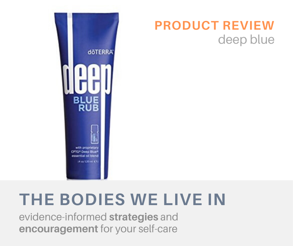 product review deep blue massage therapy