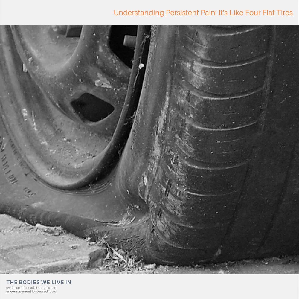 chronic pain flat tire massage therapy holland michigan