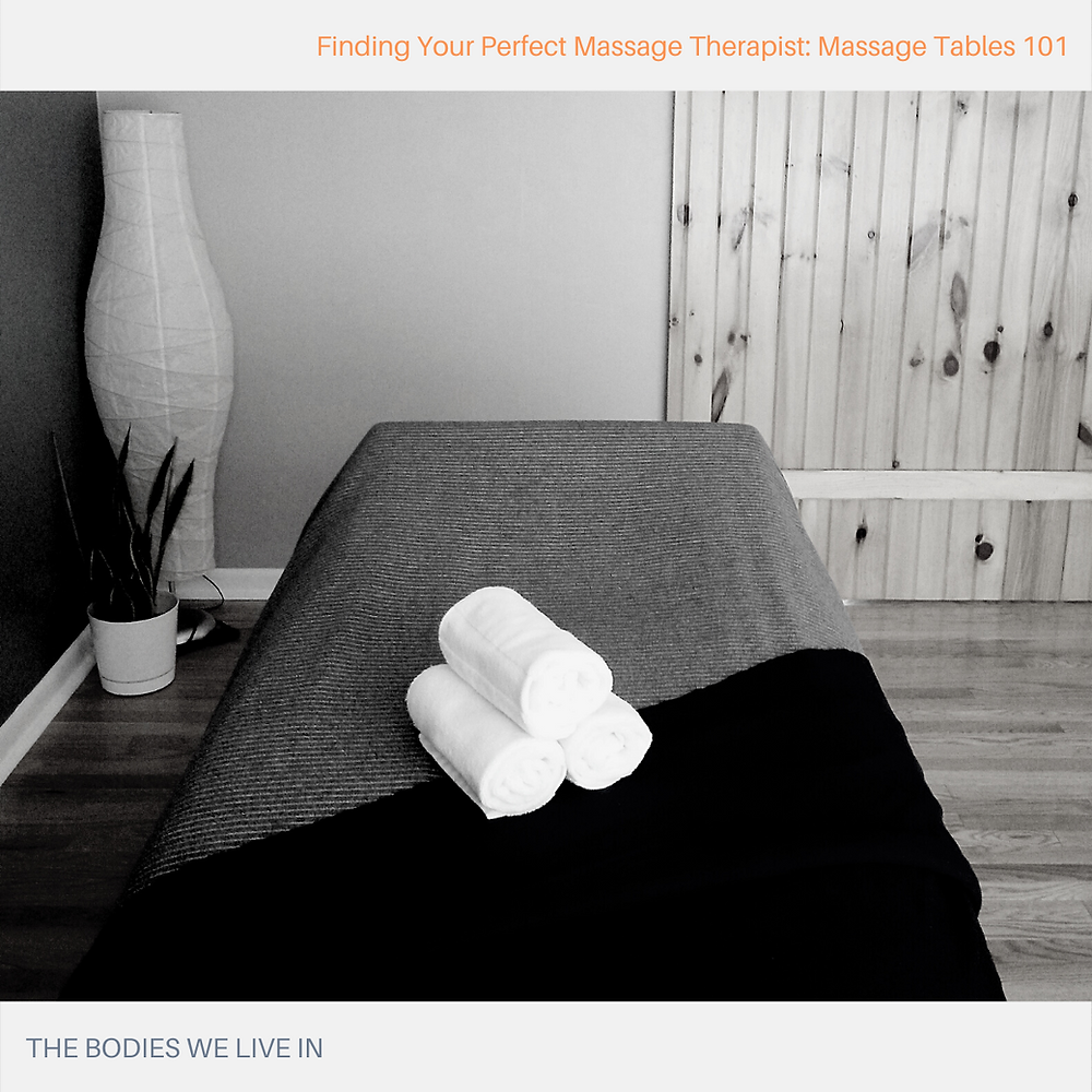 anatomy of the massage table holland mi