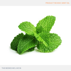 Product Review: Peppermint Oil