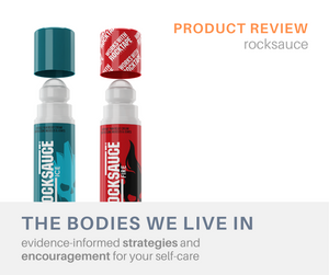 rocksauce review muscle aches massage therapy holland michigan