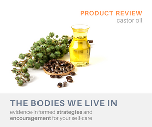 castor oil review pain relief massage therapy therapeutic at home self-care