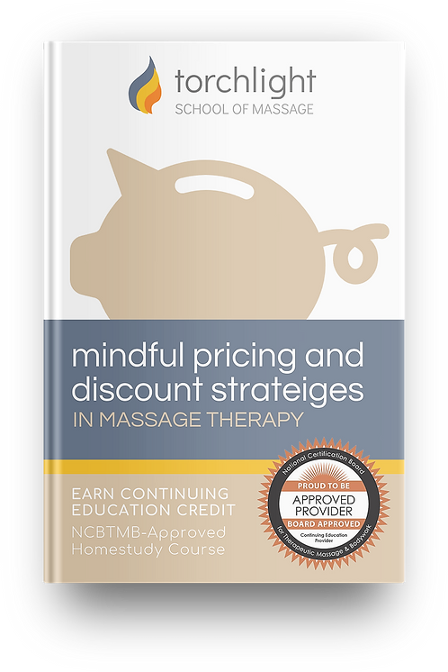 Mindful Pricing & Discout Strategisin Massage Therapy Book