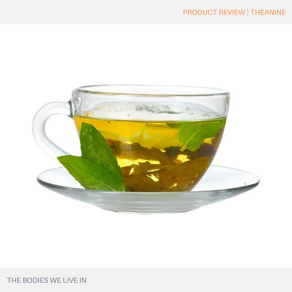 theanine stress relief management self-care natural remedy