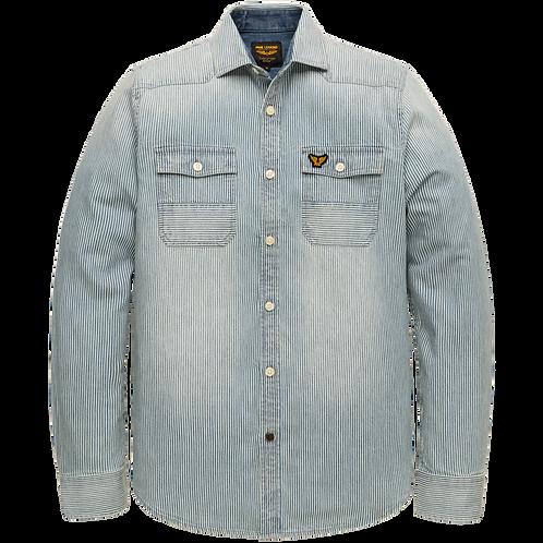 PME Legend | Stripe Denim Shirt PSI206233-590