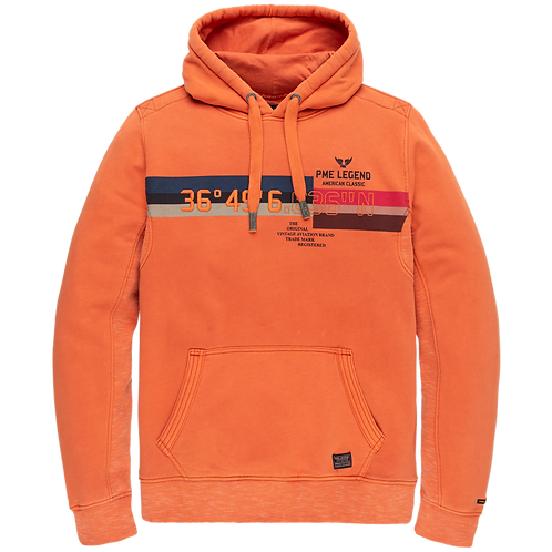 PME Legend | Washed Terry Hooded Sweater PSW205403-2080