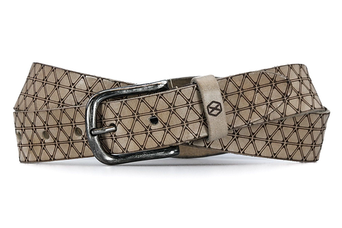 Fasten You Beans Belt | Trigon taupe