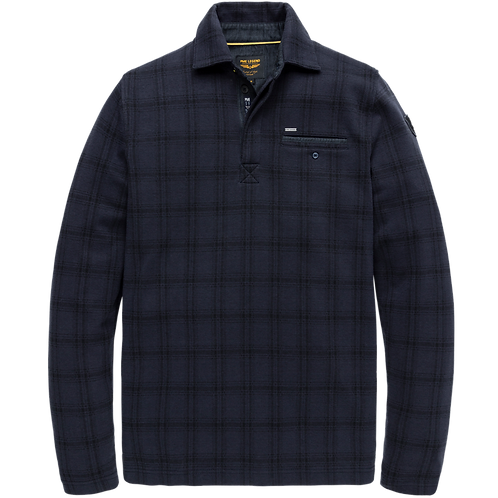 PME Legend | Long Sleeve Polo Interlock Check PPS206813 - 5288