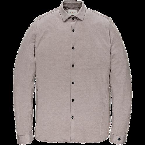 Cast Iron | Jersey Pique Oxford Shirt CSI205606-8030