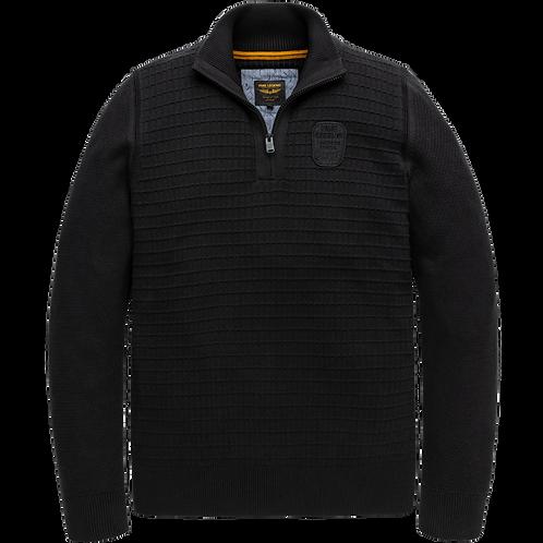 PME Legend   Cotton Half Zip Knit PKW207300-9123