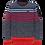 Thumbnail: PME Legend | Cotton Mixed Stripe Pullover PKW208322-5309