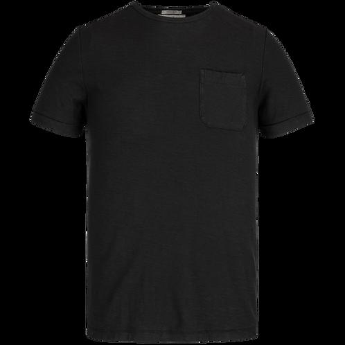 Cast Iron | R-Neck Garment Dyed SlubT-Shirt CTSS211551 - 999