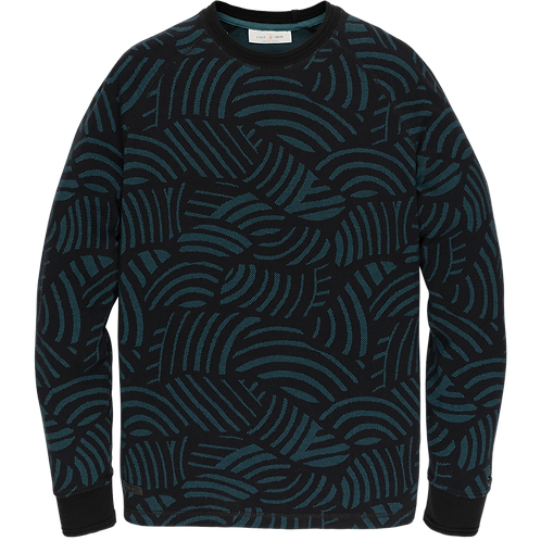 Cast Iron | Long Sleeve R-Neck Sweater CLS206252-9124