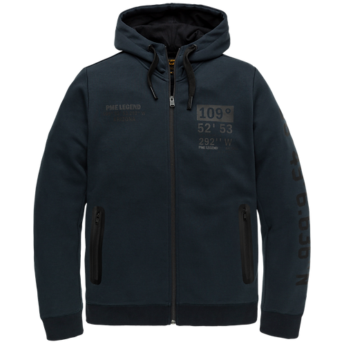 PME Legend | Full Zip Interlock Hoodie PSW205407-5288