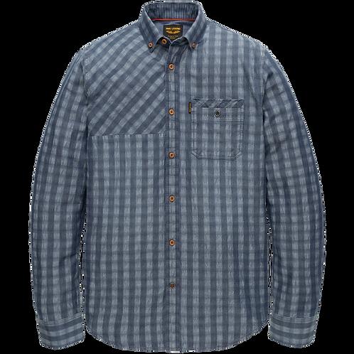 PME Legend | Denim Check Shirt PSI205218-590