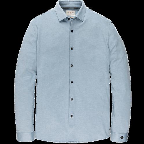 Cast Iron | Jersey Pique Oxford Shirt CSI205606-5129