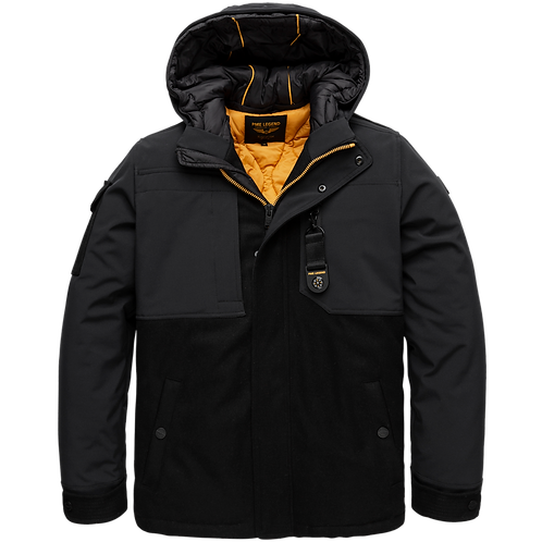 PME Legend | Hooded Jacket Wooler & Softshell Superwire PJA206124 - 999