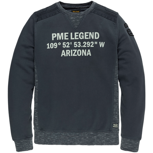 PME Legend | Washed Terry Crewneck PSW205402-5288