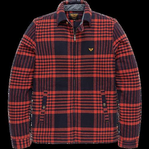 PME Legend | Flannel Check Shirt Jacket PSI206201-5288