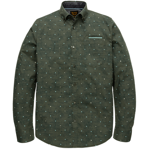 PME Legend | Stretch Poplin Print Shirt PSI205226-6026