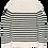 Thumbnail: Cast Iron | R-Neck Cotton Stripe Knit CKW206332-7011