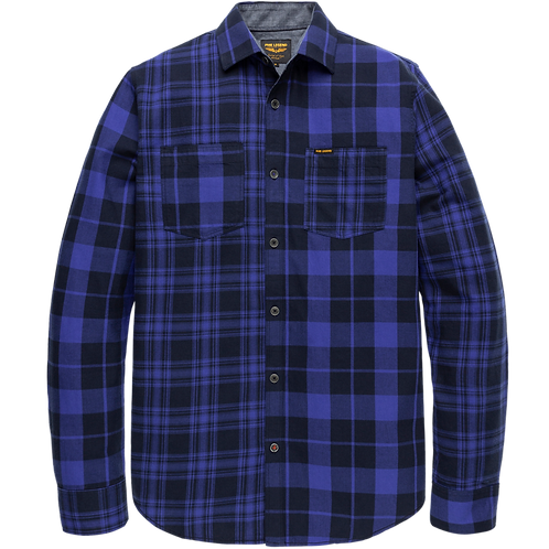 PME Legend   Twill Check Shirt PSI206211-5023